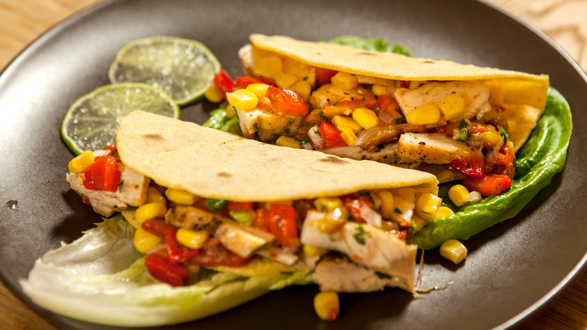 Mexican chicken tortillas
